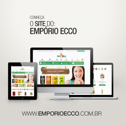 E-commerce: Empório Ecco